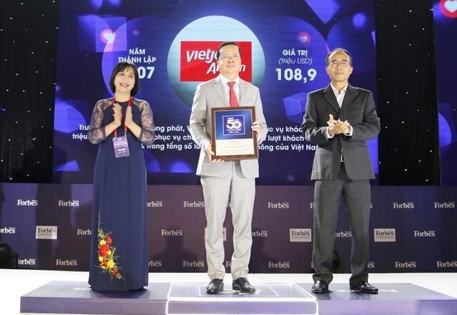 Vietjet Air lần thứ năm liên tiếp lọt Top 50 thương hiệu dẫn đầu ảnh 1