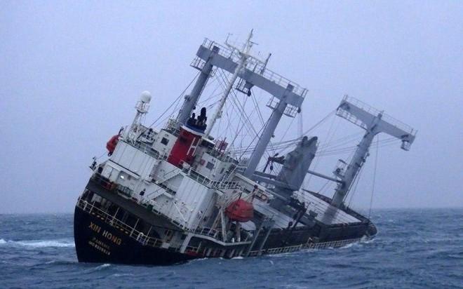 Kịp thời cứu sống 11 thuyền viên tàu XIN HONG bị chìm hơn chục giờ trên biển ảnh 1