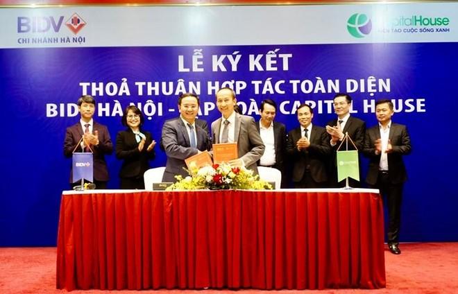 BIDV và Capital House ký kết hợp tác chiến lược toàn diện ảnh 1