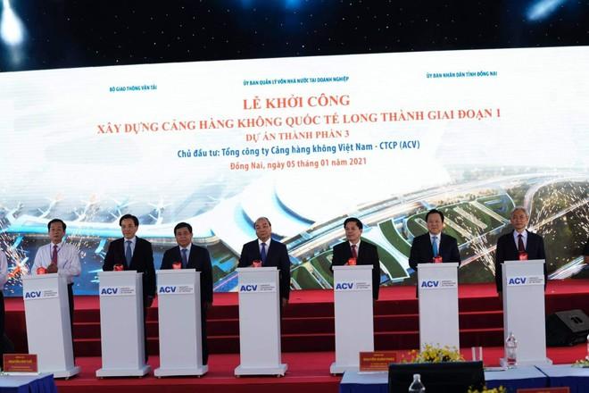 Khởi công siêu dự án sân bay quốc tế Long Thành hơn 16 tỷ USD ảnh 1