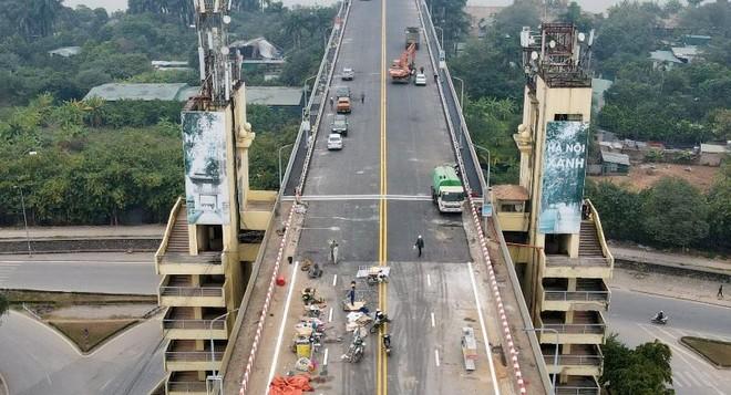 Kiểm soát tải trọng phương tiện qua cầu Thăng Long để đảm bảo tuổi thọ 10 năm ảnh 1