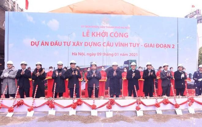 Hà Nội khởi công xây dựng cầu Vĩnh Tuy 2 hơn 2.500 tỷ đồng ảnh 1