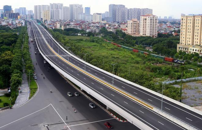 Cấm xe khách lưu thông trên đường vành đai 3 dưới thấp Phạm Văn Đồng- Phạm Hùng- Khuất Duy Tiến ảnh 1