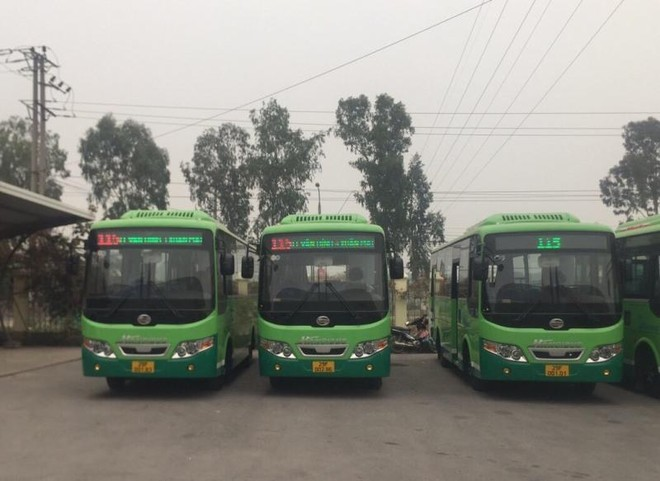 Hà Nội: Mở mới 4 tuyến buýt, nối các huyện ngoại thành từ 1-2 ảnh 1