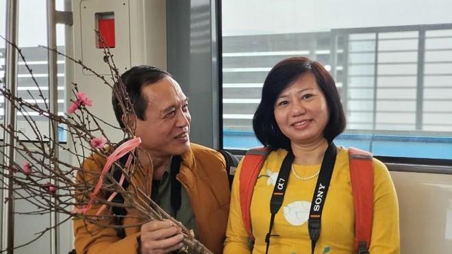 Người dân nói gì về đoàn tàu tuyến metro Nhổn-Ga Hà Nội? ảnh 3
