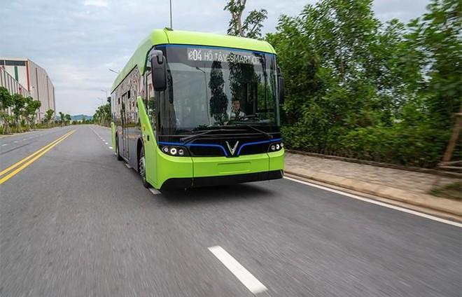 10 tuyến buýt điện của Vingroup sẽ vận hành tại Hà Nội từ quý 2-2021 ảnh 1