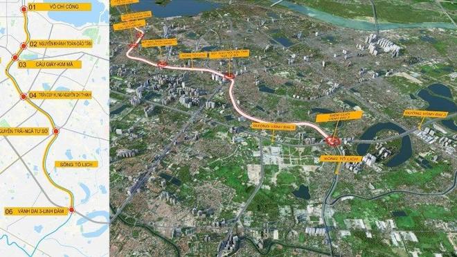 Đề xuất tài trợ lập Quy hoạch hệ thống hầm chống ngập kết hợp cao tốc ngầm chống ùn tắc nội đô Hà Nội ảnh 1