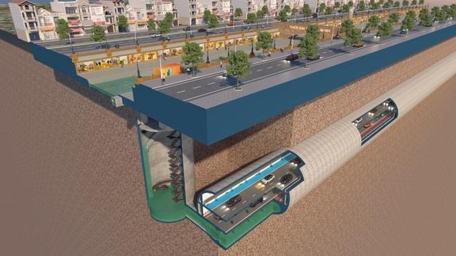 Đề xuất tài trợ lập Quy hoạch hệ thống hầm chống ngập kết hợp cao tốc ngầm chống ùn tắc nội đô Hà Nội ảnh 2