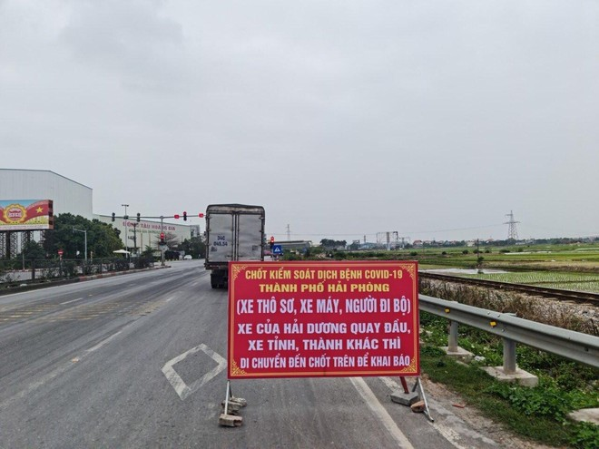 Hải Phòng không cho xe chở hàng hóa từ Hải Dương lưu thông trên quốc lộ 5 ảnh 1