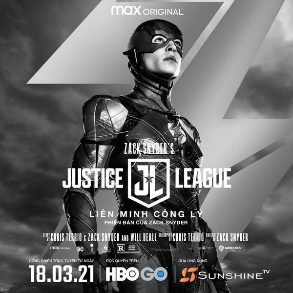 """Zack Snyder's Justice League"""", công chiếu trên Sunshine TV trở thành phim bom tấn đáng xem nhất ở Việt Nam? ảnh 2"""