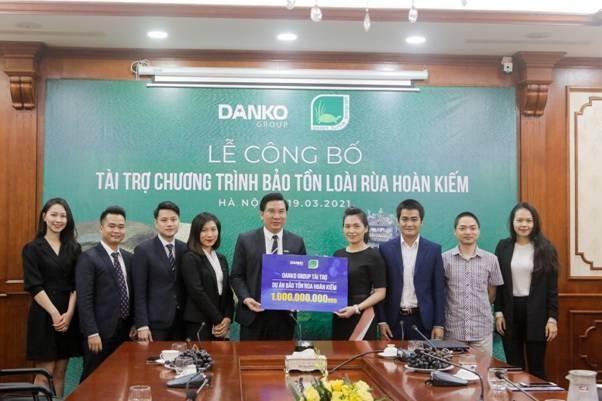 Danko Group đồng hành cùng dự án bảo tồn rùa Hoàn Kiếm ảnh 2
