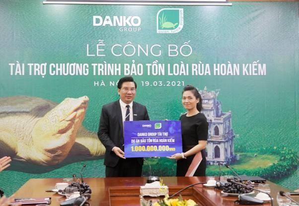 Danko Group đồng hành cùng dự án bảo tồn rùa Hoàn Kiếm ảnh 1