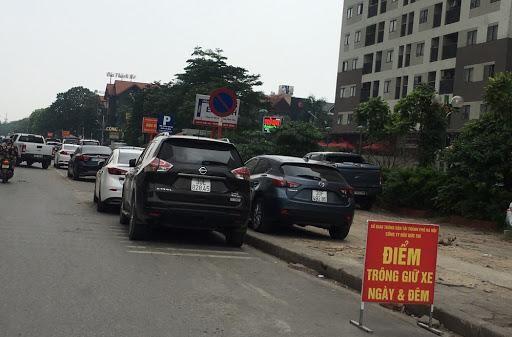 Thu hồi Giấy phép trông giữ xe ở khu bán đảo Linh Đàm của Công ty Tân Thành ảnh 1