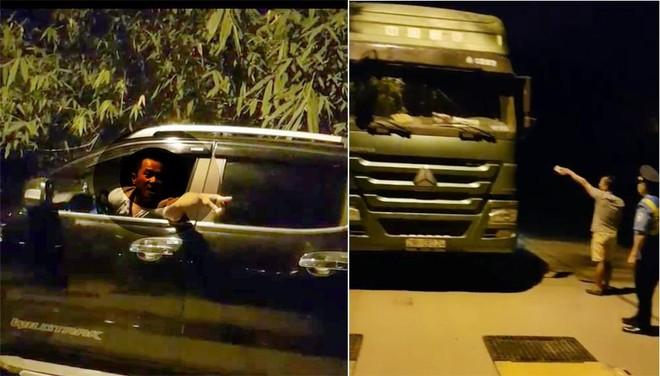Kiểm tra xe chở quá tải 200%, Thanh tra GTVT Hà Nội bị dọa đánh ảnh 1