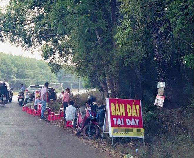 Giá đất vùng ven đô Hà Nội tăng nóng nhưng giao dịch thực chất ít ảnh 1