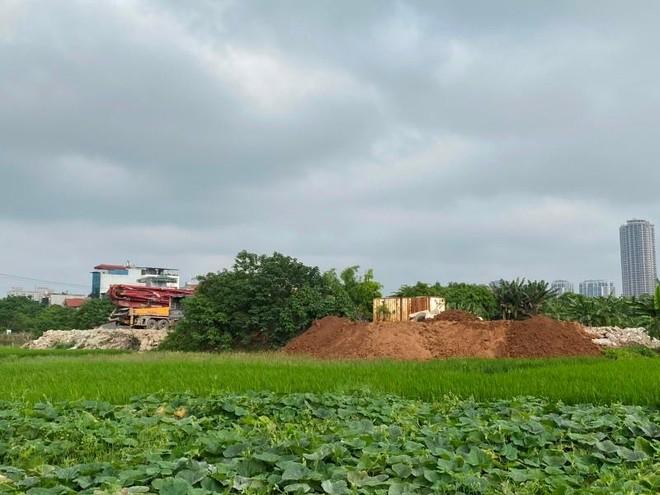 San gạt, lấn chiếm đất dự án, đất nông nghiệp ở Đại Mỗ: Xử lý xong tái diễn? ảnh 1