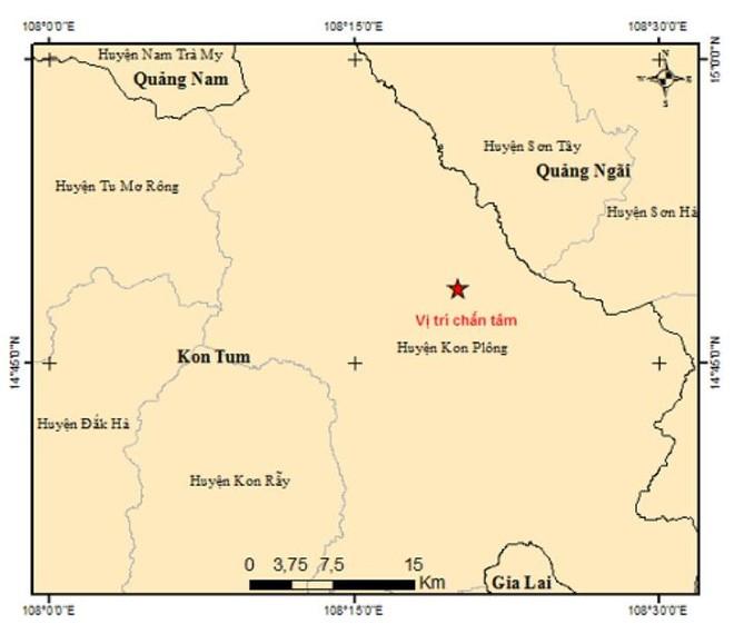 Hai tháng xảy ra 40 trận động đất ở Kon Tum ảnh 1