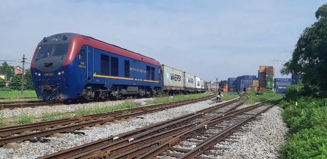 Tàu đường sắt container Việt Nam xuyên Việt chạy thẳng sang Bỉ ảnh 1