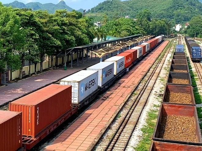 Tàu đường sắt container Việt Nam xuyên Việt chạy thẳng sang Bỉ ảnh 2