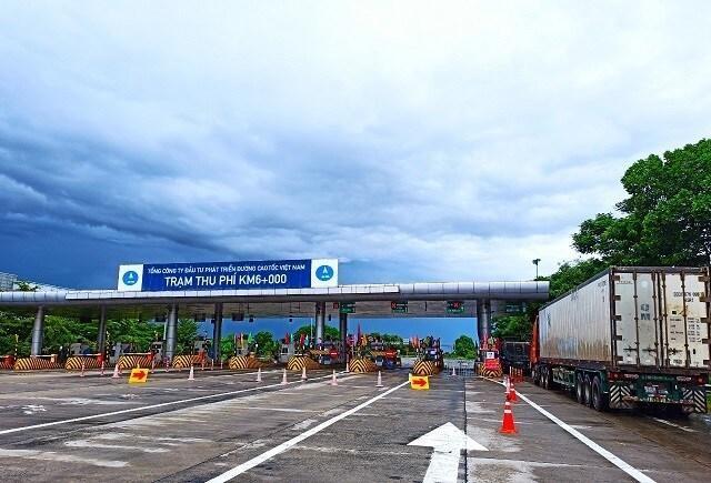 Trạm thu phí km6 cao tốc Nội Bài- Lào Cai trên địa bàn Sóc Sơn thu phí trở lại từ 6-9 ảnh 1