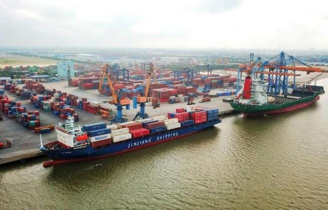 Phê duyệt 600 tỷ đồng đầu tư hơn 1,3km đường nối cảng Lạch Huyện ảnh 1