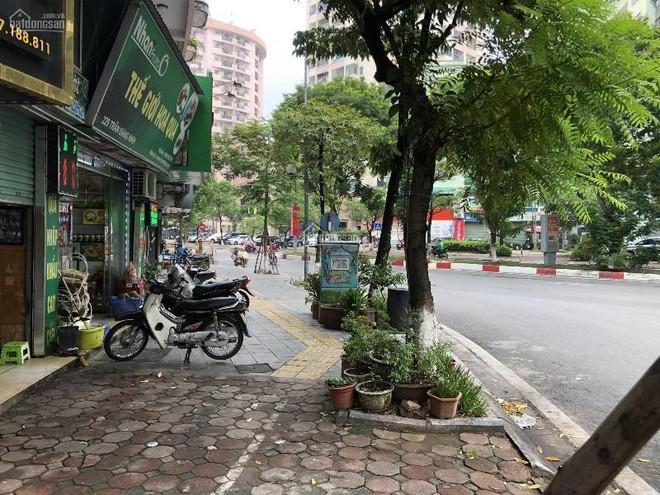 Rào đường, xén hè mở rộng phố Trần Đăng Ninh ảnh 1