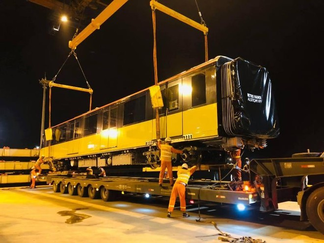 Đoàn tàu thứ chín dự án đường sắt Nhổn- Ga Hà Nội cập cảng Hải Phòng ảnh 3