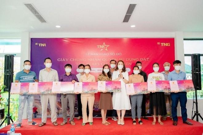 TNR Holdings Vietnam - Dấu ấn của sự tận tâm với loạt dự án bàn giao sổ đỏ và hoàn thiện hạ tầng ảnh 1