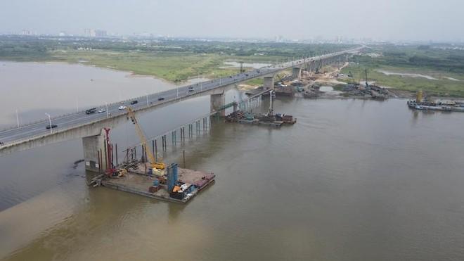 Cầu Vĩnh Tuy 2 sẽ hoàn thành vào năm 2023 ảnh 1