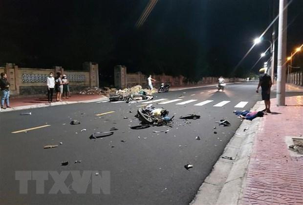 Đề nghị kiểm tra dấu hiệu đua xe trái phép vụ 4 xe máy tai nạn làm 7 người thương vong ở Phú Thọ ảnh 1
