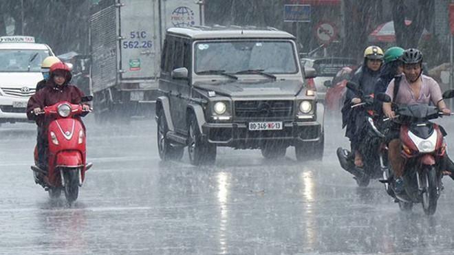 Hôm nay, mưa giông tạm dứt ở Bắc bộ, cuối tuần tái xuất ảnh 1