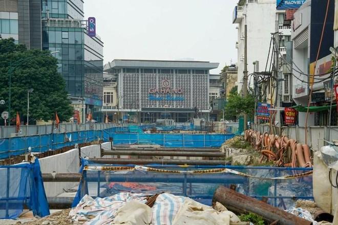 Metro Nhổn- Ga Hà Nội dừng thi công đoạn đi ngầm đến bao giờ? ảnh 2