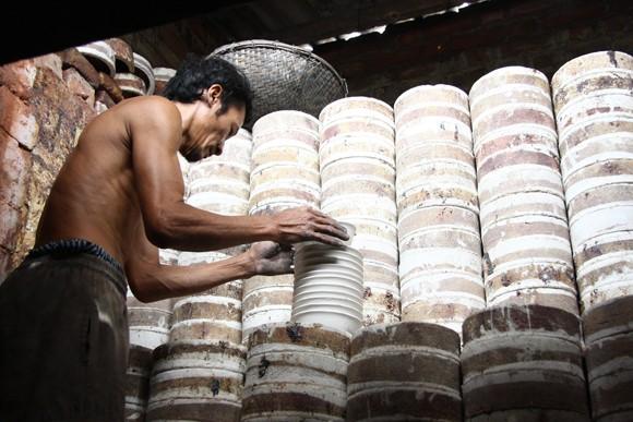 Nét đẹp người lao động ở làng gốm Kim Lan ảnh 2