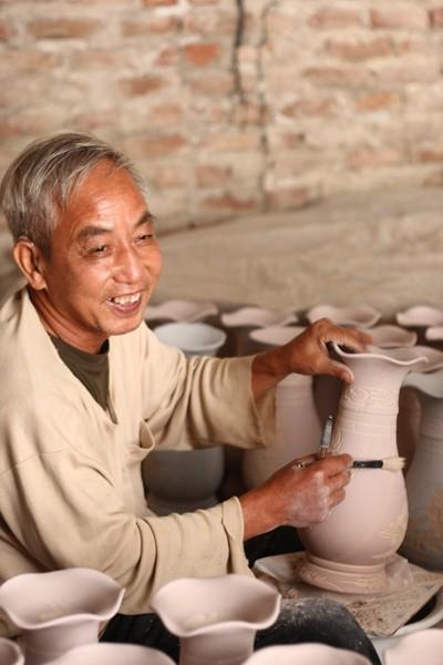 Nét đẹp người lao động ở làng gốm Kim Lan ảnh 5