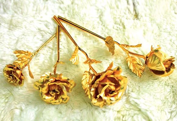"""Hoa hồng vàng, """"hàng độc"""" dành cho ngày 8-3 ảnh 2"""