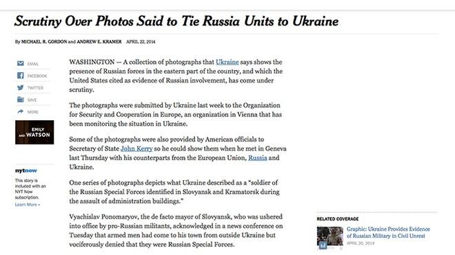 Mỹ thừa nhận bằng chứng lính Nga ở Ukraine là không đúng sự thật ảnh 2