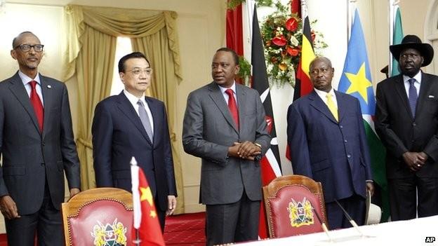 Trung Quốc tài trợ xây dựng tuyến đường sắt mới ở Đông Phi ảnh 1