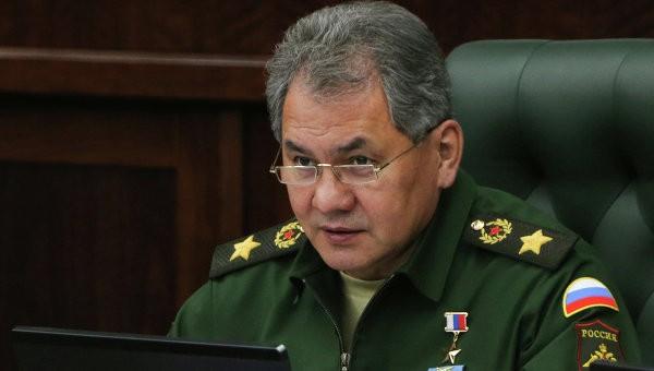 Bộ trưởng Quốc phòng Nga, Sergei Shoigu