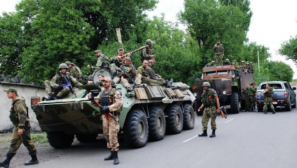 Lực lượng ly khai Donesk đã bắt đầu thu hồi vũ khí hạng nặng