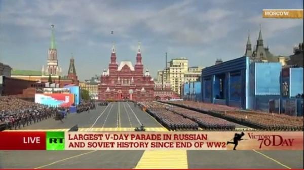 Lễ duyệt binh hùng tráng tại Quảng trường Đỏ - Moscow ảnh 13