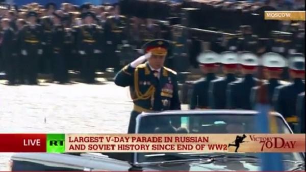 Lễ duyệt binh hùng tráng tại Quảng trường Đỏ - Moscow ảnh 14