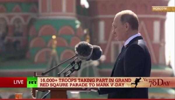 Lễ duyệt binh hùng tráng tại Quảng trường Đỏ - Moscow ảnh 15