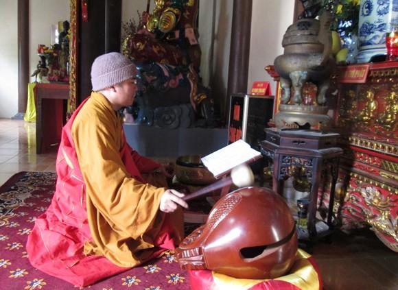 Về chùa Sùng Nghiêm gặp sư thầy có 9 người con ảnh 2