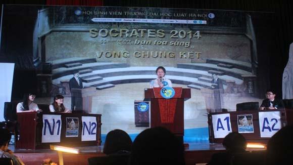 Chung kết cuộc thi hùng biện Socrates 2014 ảnh 3