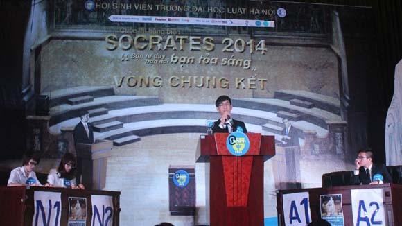 Chung kết cuộc thi hùng biện Socrates 2014 ảnh 4