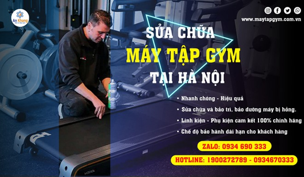 Sửa máy tập Gym tại Hà Nội ảnh 1
