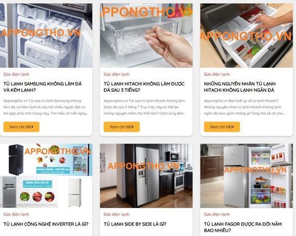 Ong thợ: chia sẻ kiến thức các thiết bị điện lạnh ảnh 1