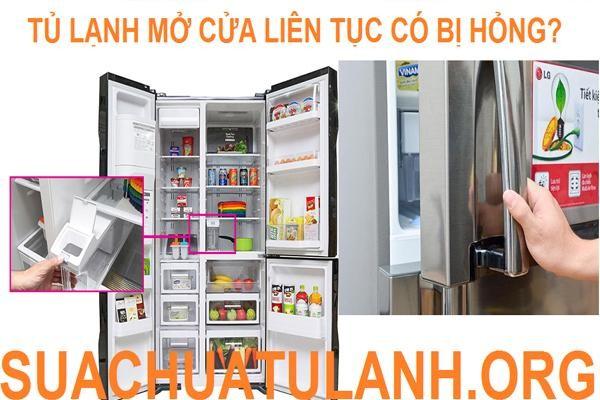 Tủ lạnh mở cửa liên tục có bị nhanh hỏng? ảnh 2