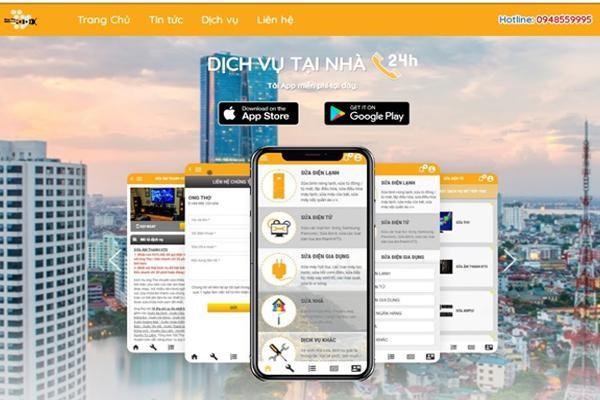 App Ong Thợ với 40 hạng mục dịch vụ sửa chữa tại nhà ảnh 1