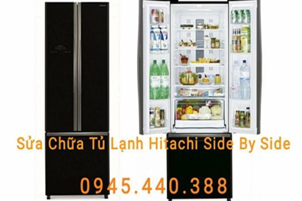 Sửa chữa tủ lạnh Hitachi side by side uy tín tại Hà Nội ảnh 1